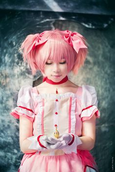 魔法少女小圓 - Lokia(Lokia) 鹿目まどか コスプレ写真 - WorldCosplay