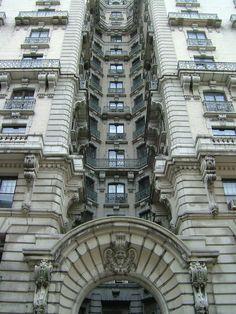 NYC. Manhattan. the beautiful Ansonia