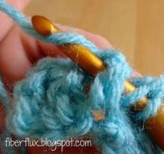 "The front post double crochet stitch, or ""fpdc"" as it is abbreviated in patterns, is a great way to add a little texture to your crochet...."
