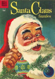 Vintage Santa Claus Comic