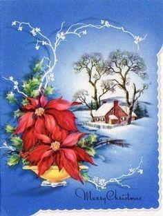 Vintage Christmas Card❤️