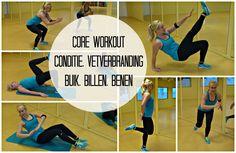 Core Workout Conditie Vetverbranding Buik Billen Benen