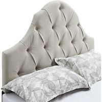 Looking for a new bed and living these upholstered headboards! Joss and Main