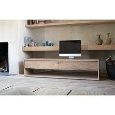 Nordic oak TV units
