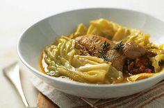 Perdices con col. Ingredientes, elaboración y consejos de las mejores recetas de la cocina típica y tradicional de Menorca y de su gastronomía.