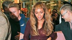 beyonce bangs | Beyoncé Tried Out Some New Bangs and ...