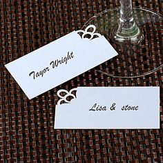 Simple Place Card - Set of 12 – AUD $ 4.28