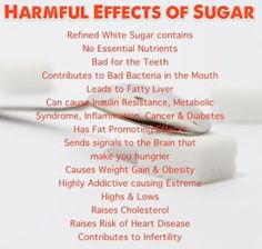 Why cut out sugar and what to expect. Help with the withdrawals and cravings. ~ Lifestyle Tips for all