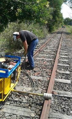 Maintaining the Taneatua Line in Whakatane New Zealand ensures optimal safety and comfort for the passengers who ride with Awakeri Rwil Adventires Self Driving, Railroad Tracks, New Zealand, Safety, Adventure, Security Guard, Adventure Movies, Adventure Books, Train Tracks
