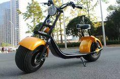 E-Roller Coco City Harley 1000w Lithium mit Hydraulik Bremsen