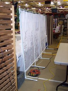 build a display booth with pvc - Google Search                                                                                                                                                      More