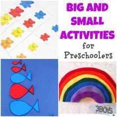 Big and Small Activities for Preschoolers