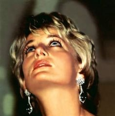 Princess Diana~~Never seen a shot like this. She has a fine nose and chin line!