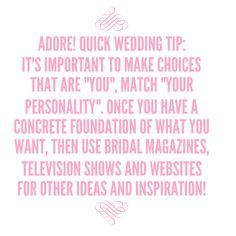 Wedding Planning 101! #adorebeyondborders #weddingplanning #tipoftheday