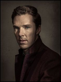 Time magazine: Portrait of actor Benedict Cumberbatch photographed in California on November 9, 2014.