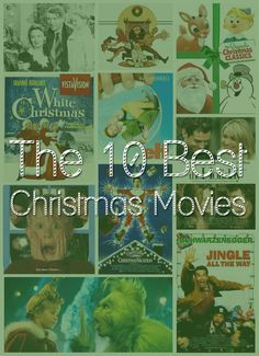 10 Best Christmas Movies, and a surprise #giveaway! / Every year, I gather up the best Christmas movies, a warm blanket and curl up on the couch. Here's my list of 10 of my favorite flicks for the holidays! / View the list: http://hellorigby.com/best-christmas-movies-giveaway/