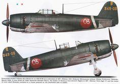 Kawanashi N1K2-J Shinden Kai Model 21