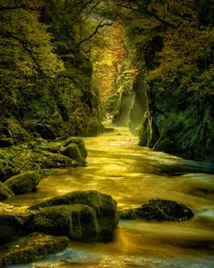 """""""...creative visualization, combined with some HDR magic... Fairy Glen in the Conwy Valley in North Wales"""" by Rick Sammon   Scott Kelby's Photoshop Insider"""