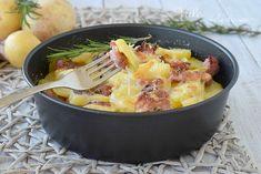 TORTA DI PATATE E SALSICCIA ricetta facile ed economica, un secondo piatto ricco e gustoso, oppure un piatto unico sostanzioso