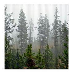 Unique+Shower+Curtains   unique shower curtain #forest #pines #showercurtain ...   Shower Curt ...