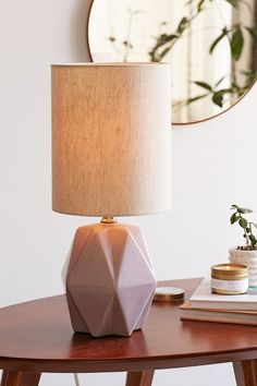 Assembly Home Faceted Pastel Table Lamp