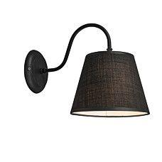 Wandleuchte Silea Down mit Schirm schwarz - 92205