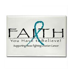 Ovarian Cancer Awareness Fridge Magnets | Buy Ovarian Cancer Awareness ...