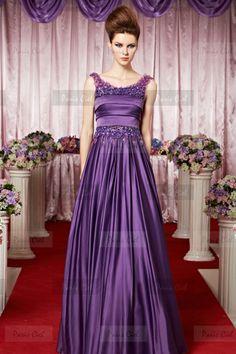 Charming Bateau Long Grape Evening Dress | Paris Ciel (http://www.pinterest.com/pin/325314773056057339/)