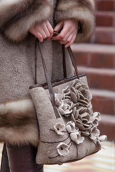 Женские сумки ручной работы. Ярмарка Мастеров - ручная работа. Купить Magique..... Handmade. Бежевый, единственный экземпляр, бежевая сумка
