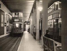 Kingsway Tram station, London in 1933