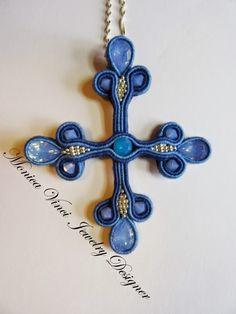"""Lo Scrigno dei Gioielli: """"The Cross Soutache Pendant"""""""