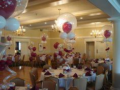 Sweet 16 Table arrangements!