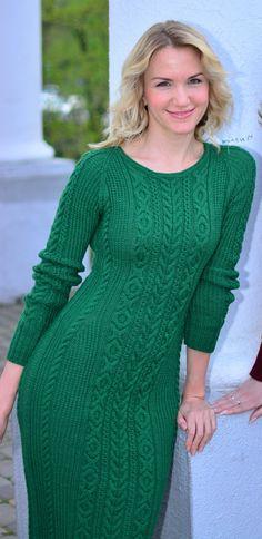 34 Ideas For Knitting Sweaters Dress Style Angora, Knit Sweater Dress, Sweater Dresses, Cardigan, Classy Dress, Knitting Patterns Free, Crochet Clothes, Trendy Fashion, Fashion Women