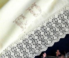 Симпатичная кайма крючком Crochet Borders, Lace Shorts, Band, Women, Fashion, Tejidos, Moda, Crochet Edgings, Sash