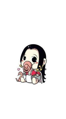 Baby Boa Hancock - One Piece One Piece World, Nami One Piece, One Piece Comic, One Piece Anime, One Piece Tattoos, Pieces Tattoo, One Piece Pictures, One Piece Images, Kawaii Chibi