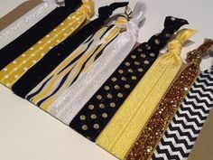 University of Missouri Hair Ties! perfect for the little tiger fan on your list!