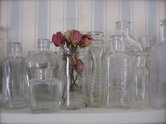 old bottle collection...