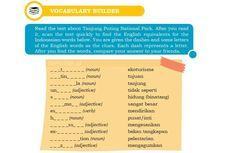 Kunci Jawaban Soal Bahasa Inggris Chapter 4 Halaman 52 Kelas 10 Vocabulary Builder
