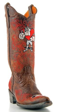 UGA Gear — girl meets gameday #boots #Georgia #bulldogs