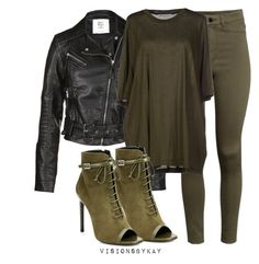 """Untitled #339"" by kaythefrugalista on Polyvore featuring Vero Moda, H&M, Acne Studios, Yves Saint Laurent and outfitinspiration"
