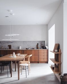 Our studio in Oslo is open today 11 - / Everything we make is made at our workshop in Drammen .every kitchen and furniture is… Kitchen Tops, Kitchen Dining, Kitchen Decor, Elegant Home Decor, Elegant Homes, Interior Architecture, Interior Design, Kitchen Interior, Diy Room Decor