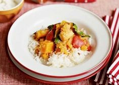 A mild curry that the family will love, and can be frozen in portions for your toddler