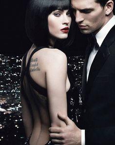 Megan Fox Armani Code Pour Femme Ad Photos