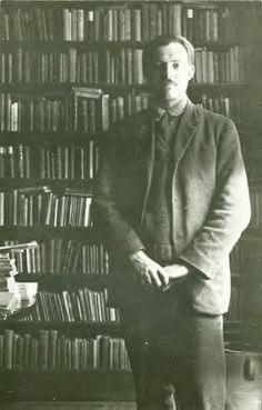 Hemingway at Shakespeare & Company bookstore, Paris, early '20's