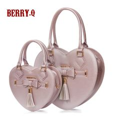 Berry.Q -The Honeymoon- Heart Shaped Lolita Handbag