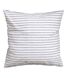 Cotton Cushion Cover Product Detail | H&M US