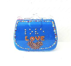 Braille Love Purse Favor Box / Nail Polish Set by DoodlelyDoo