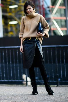 The Best Street Style From London Fashion Week #lfw #fall16 #streetstyle