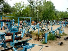 Cool outdoors gym - Hydropark outdoor gym