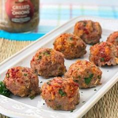 Turkey meatballs are a delicious low-cholesterol recipe.